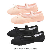 Ballet Shoes Women Ballerina Yoga Dance Shoes Flats Sole Slippers Girls Adults