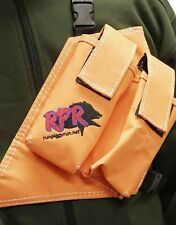 RPR GPS / UHF HOLSTER DOUBLE ORANGE HOUND PIG HUNTING DOGGING IN STOCK NOW!