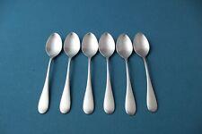 "New listing 6 Demitasse Spoons Oneida Omni Cube Stainless 4 3/8"""