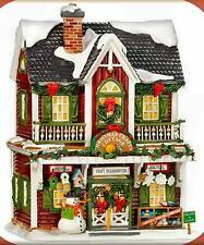 Department 56 Snow Village CHRISTMAS CRAFTS COTTAGE 55616 BNIB Retired