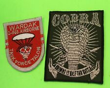 US Afghanistan War Special Forces Airborne 2009-2010 Shoulder Sleeve Patches 2
