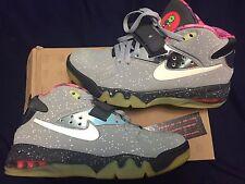 Nike Air Force Max 2013 PRM QS Galaxy Area 72 597799-001 SZ 8.5 US