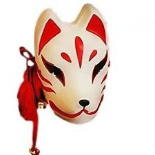 Traditional fox face mask cos cosplay costume FUSHIMI INARI about 25cm