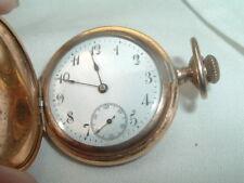 Philadelphia 14k Gold Case Swiss Made Small Pocket Watch