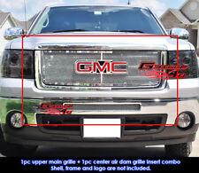 Fits 07-12 GMC Sierra 1500/07-10 GMC Sierra Denali Mesh Grill Combo