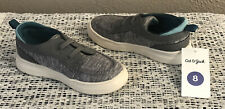 NEW CAT & JACK TODDLER BOYS EVERETT GREY GRAY SLIP-ON LOAFERS SHOES SIZE 8 NWT