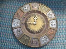 Ceramic Zodiac Wall Clock