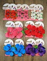 20Pcs Boutique Girls Kids Children Flower Jewel Hair Bows Alligator Clips 009