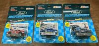 LOT 1992 Racing Champions 1:64 Scale Diecast NASCAR Ford Motorsport Thunderbird