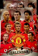 Manchester United Calender 2003, New Vintage Collectible Memorabilia