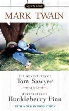 The Adventures of Tom Sawyer; Adventures of Huckleberry Finn by Mark Twain
