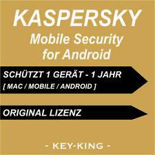 Kaspersky Internet Security 2019 für Android / Mobile 1 Gerät / 1 Jahr