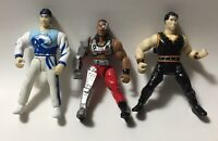 WMAC Masters Martial Arts Champions Lot of 3 Action Figures Bandai 1996 WMAP