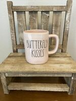 RAE DUNN NEW BUTTERFLY KISSES VALENTINE MUG CERAMIC COLLECTOR