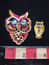 Patch Lot Of Hoot OWL Patches C74G