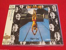 DEF LEPPARD - High 'N' Dry + 2 Bonus Tracks - JAPAN SHM JEWEL CASE EDITION - CD