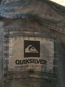Men's Quiksilver Charcoal Jacket M