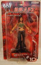 WWE Raw Draft #10 Lita Limited Edition Jakks Titan Tron Live WWF ECW(MOC)