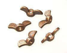 5 Tattoo Machine Bronze Bat Wing Nuts Binder Base Plate Thumb Screw parts