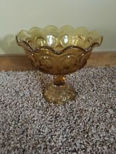 Vintage Moon And Stars  Compote Amber Le Smith