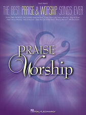 BEST PRAISE & WORSHIP SONGS EVER EASY PIANO SONG BOOK