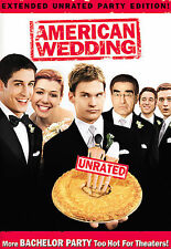 Personal Collection, American Wedding (DVD, 2004, Widescreen, Unrated) LIKE NEW