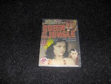 QUEEN OF THE JUNGLE CLIFFHANGER SERIAL 12 CHAPTERS 2 DVDS