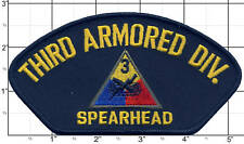 "Third Armored Division Patch ""Spearhead"" 3rd Armored"