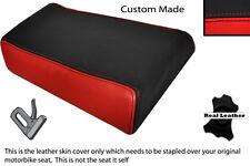 Rojo Y Negro Custom Fits Yamaha Fzr 600 89-99 Trasero necesidades cubierta de asiento