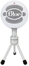 Blue Microphones Snowball Ice Usb Blanco Micrófono Condensador Micrófono Soporte Nuevo
