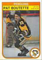 1982-83 O-Pee-Chee Pat Boutette Pittsburgh Penguins #263