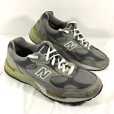 GUC Men's New Balance 992 Walking Shoes Gray suede leather Comfort Sz 14 2E