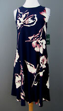 Lauren Ralph Lauren Floral Print Dress MSRP $135 Size 10 # EN 2240 Blm