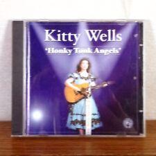 Kitty Wells Honky Tonk Angels CD Album 2003 Black Cat CZECH REPUBLIC playgraded
