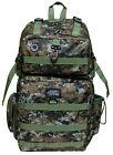 GREEN BROWN DIGITAL CAMO  Backpack Big Hunting Day Pack DP321 Camping TACTICAL