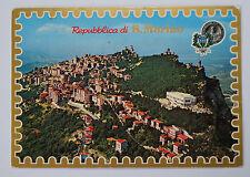 Bella vecchia cartolina AK-San Marino foto aerea Republica