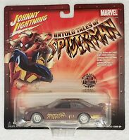 JOHNNY LIGHTNING UNTOLD TALES OF SPIDER-MAN 97 FORD TAURUS STOCK CAR 1:43 SCALE