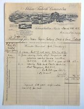 Germany Ahlen Fabrik Concordia Shoe Factory 1933 illustrated letterhead to India