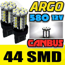 VAUXHALL ASTRA J 580 SMD 7443 W21/5W T20 DRL BULBS WHITE DAYTIME RUNNING LIGHTS