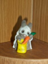 Hallmark Merry Miniature 1989 Bunny Ghost China