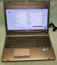 HP ProBook 6560b i5-2450M @ 2.50GHz 4GB Ram No HDD Laptop/Notebook
