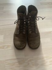 Red Wing Iron Ranger 8113 Hawthorne Muleskinner Suede Boots