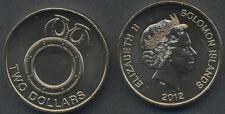 SOLOMON ISLANDS 2 Dollars 2012 UNC