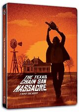 THE TEXAS CHAINSAW MASSACRE (1975) NEW 2 DISC BLU RAY STEELBOOK REGION B