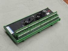 #847 Moore EAM 16190-1-3 Enhanced Analog Module PC Relay Circuit Board Card