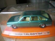 Talbot 150 = Chrysler 1510 1/43 M-529 Vert métal Pilen Spain 1979 Neuf Box MiB