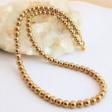 pyritkette Precious Stone Necklace Pyrite Golden Ball Collier Jewelry NEW