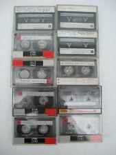 10 x used TDK D90 cassettes tape lot 3