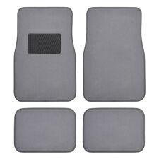 Car Floor Mats for Sedan & SUV 4 Piece Carpet Liner Vinyl Heel Pad - Carpet Mat