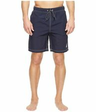 Nautica 145276 Men's New Anchor Swim Trunk Color Navy Sz XXL